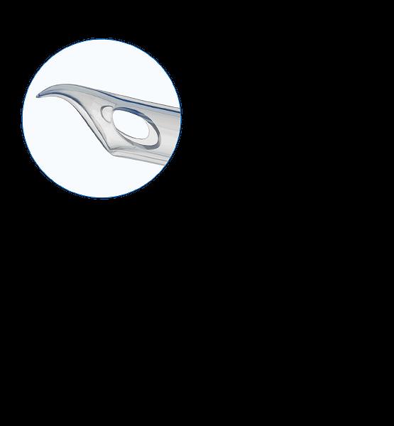 кончик эндотрахеальной трубки Паркер